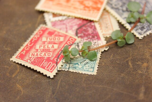 様々な切手の買取に対応